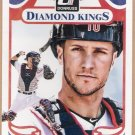 YAN GOMES 2014 Panini Donruss Diamond King INSERT Card #219 CLEVELAND INDIANS Baseball FREE SHIPPING
