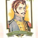 SIMON BOLIVAR 2012 Topps Allen & Ginter Worlds Greatest Military Leaders Mini INSERT Card #ML-2 And