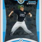 BRETT ANDERSON 2008 Bowman Draft Picks & Prospects CHROME FG ROOKIE Card # BDPP108 Oakland A's