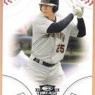 CARLOS GONZALEZ 2008 Donruss Threads Baseball ROOKIE Card #82 Oakland A's FREE SHIPPING