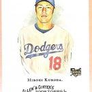 HIROKI KURODA 2008 Topps Allen & Ginter ROOKIE Card #16 Los Angeles Dodgers FREE SHIPPING