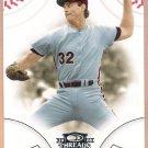 STEVE CARLTON 2008 Donruss Threads Baseball Card #39 Philadelphia Phillies FREE SHIPPING