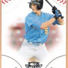 JORDAN SCHAFER 2008 Donruss Threads Baseball ROOKIE Card #53 Atlanta Braves FREE SHIPPING