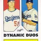 JONATHAN BROXTON & CHAD BILLINGSLEY 2006 Topps 52 Dynamic Duos INSERT Card Los Angeles Dodgers