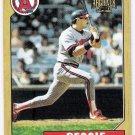 REGGIE JACKSON 2001 Topps Archives Card #173 Anaheim Angels FREE SHIPPING Baseball 173