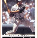WILLIE MAYS 2003 Topps Gallery HOF Baseball Card # 1 San Francisco Giants FREE SHIPPING