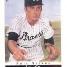 PHIL NIEKRO 2003 Topps Gallery HOF Card #17 Atlanta Braves FREE SHIPPING Baseball