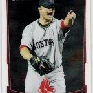 JON LESTER 2012 Bowman CHROME Card #116 BOSTON RED SOX Baseball FREE SHIPPING 116