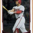 JUSTIN UPTON 2012 Bowman CHROME Card #183 ARIZONA DIAMONDBACKS Baseball FREE SHIPPING 183