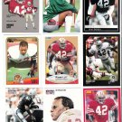 RONNIE LOTT Lot Of 18 Different Football Cards SAN FRANCISCO 49ERS Oakland Raiders NEW YORK JETS