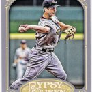 DAVID FREESE 2012 Topps Gypsy Queen SHORT PRINT Variation Card #197 ST LOUIS CARDINALS Free Shipping