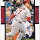 MATT HOLLIDAY 2014 Panini Donruss Card #93 ST LOUIS CARDINALS Baseball FREE SHIPPING 93