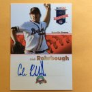 COLE ROHRBOUGH 2008 Tristar Projections AUTOGRAPH Rookie Card #253 Atlanta Braves FREE SHIPPING Auto