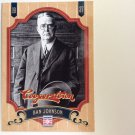 BAN JOHNSON 2012 Panini Cooperstown Card #7 American League Founder Baseball FREE SHIPPING HOF 7
