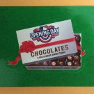OPENING DAY CHOCOLATES 2016 Topps MLB Wacky Packages GREEN GRASS Parallel Card #65 Baseball