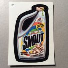 SNOUT 2005 Wacky Packages All New Series 2 Bonus Sticker INSERT Card #B7 FREE SHIPPING ANS2
