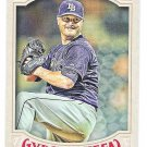 ALEX COBB 2016 Topps Gypsy Queen Baseball Card #96 TAMPA BAY RAYS Free Shipping 131