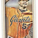 CHRIS HESTON 2016 Topps Gypsy Queen MINI Parallel INSERT Card #203 SAN FRANCISCO GIANTS Baseball 203