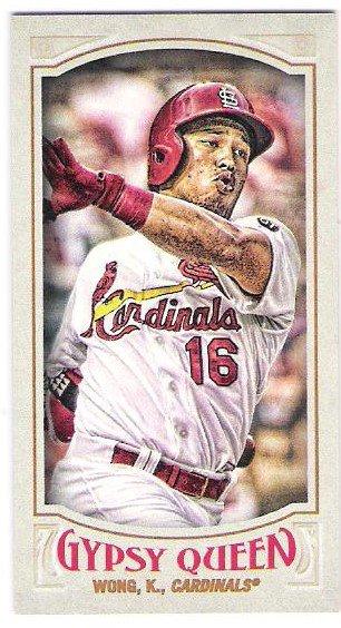 KOLTEN WONG 2016 Topps Gypsy Queen MINI Parallel INSERT Card #57 ST LOUIS CARDINALS Baseball 57
