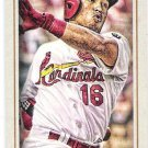 KOLTEN WONG 2016 Topps Gypsy Queen MINI Parallel INSERT Card #57 ST LOUIS CARDINALS Baseball 57