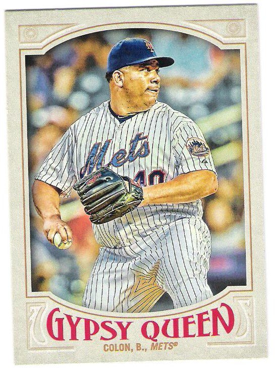 BARTOLO COLON 2016 Topps Gypsy Queen Baseball Card #246 NEW YORK METS FREE SHIPPING 246