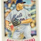 BARTOLO COLON 2016 Topps Gypsy Queen Baseball Card #246 NEW YORK METS FREE SHIPPING 246