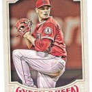 GARRETT RICHARDS 2016 Topps Gypsy Queen Baseball Card #41 LOS ANGELES ANAHEIM ANGELS FREE SHIPPING