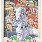 ANDRELTON SIMMONS 2016 Topps Gypsy Queen Baseball Card #55 LOS ANGELES ANAHEIM ANGELS FREE SHIPPING