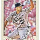 FRANCISCO RODRIGUEZ 2016 Topps Gypsy Queen Baseball Card #291 DETROIT TIGERS FREE SHIPPING 291