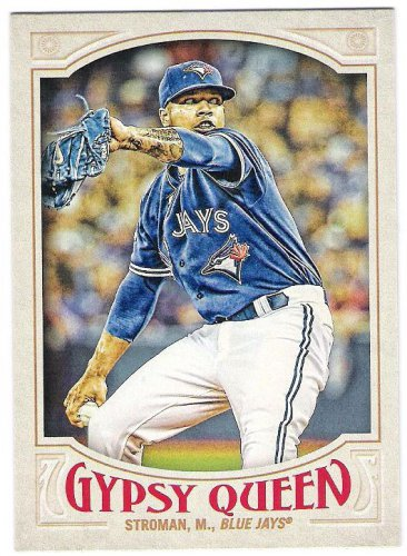 MARCUS STROMAN 2016 Topps Gypsy Queen Baseball Card #14 TORONTO BLUE JAYS FREE SHIPPING 14