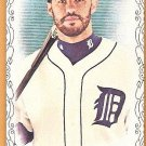 J.D. MARTINEZ 2016 Topps Allen & Ginter BLACK BORDER Parallel Mini Card #185 DETROIT TIGERS