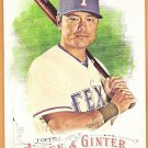 SHIN-SOO CHOO 2016 Topps Allen & Ginter SHORT PRINT Card #333 TEXAS RANGERS Baseball FREE SHIPPING