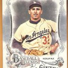SANDY KOUFAX 2016 Topps Allen & Ginter Baseball Legends INSERT Card #BL-24 LOS ANGELES DODGERS 24