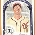 MAX SCHERZER 2016 Topps Allen & Ginter The Numbers Game INSERT Card #NG-13 WASHINGTON NATIONALS 31