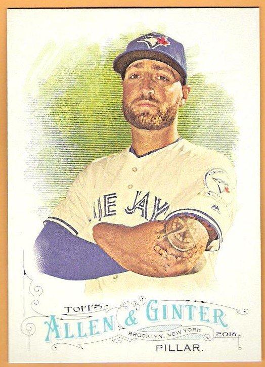 KEVIN PILLAR 2016 Topps Allen & Ginter Baseball Card #77 TORONTO BLUE JAYS A&G FREE SHIPPING