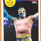 SIN CARA 2015 Topps Heritage Rookie of the Year INSERT Wrestling Card #26 WWE WWF  FREE SHIPPING