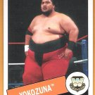 YOKOZUNA 2015 Topps Heritage WWE Legend Wrestling Card #50 Hall Of Fame World Champion FREE SHIPPING
