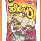 CHEAPOS 2005 Topps Wacky Packages Ser 2 Tattoos INSERT Sticker Card #9 Cheetos Crunchy FREE SHIPPING