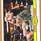 STONE COLD STUNNER 2012 WWE Topps Heritage Ringside Action Insert Card #3 Wrestling STEVE AUSTIN WWF