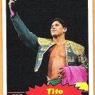 TITO SANTANA 2012 WWE Topps Heritage Legends Card #106 Wrestling WWF Hall Of Fame El Matador