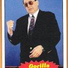 GORILLA MONSOON 2012 WWE Topps Heritage Legends Card #75 Wrestling WWF Hall Of Fame Announcer
