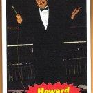 HOWARD FINKEL 2012 WWE Topps Heritage Legends Card #80 Wrestling WWF Hall Of Fame THE FINK Announcer
