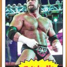TRIPLE H 2012 WWE Topps Heritage Wrestling Card #40 WWF Hunter Hearst Helmsley FREE SHIPPING