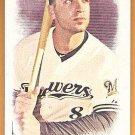 RYAN BRAUN 2016 Topps Allen & Ginter Mini INSERT Baseball Card #2 MILWAUKEE BREWERS FREE SHIPPING