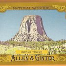 DEVIL'S TOWER 2016 Topps Allen & Ginter Natural Wonders INSERT Baseball Card #NW-15 Baseball NW-15