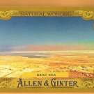 DEAD SEA 2016 Topps Allen & Ginter Natural Wonders INSERT Baseball Card #NW-12 Baseball NW-12