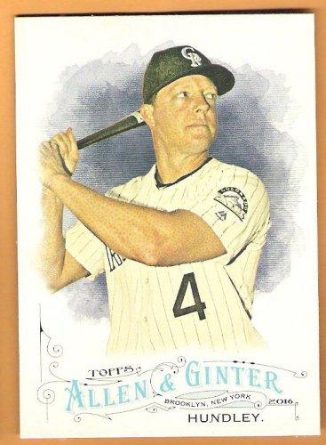 NICK HUNDLEY 2016 Topps Allen & Ginter Baseball Card #91 COLORADO ROCKIES FREE SHIPPING 91