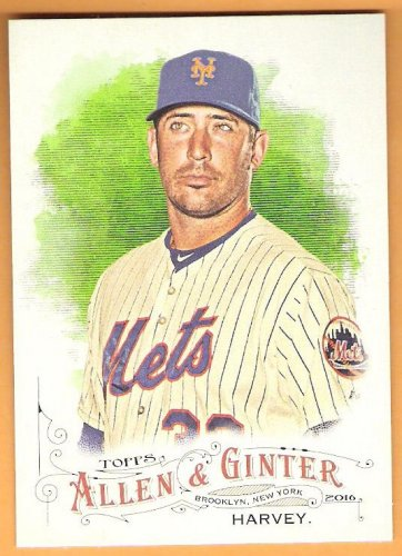 MATT HARVEY 2016 Topps Allen & Ginter Baseball Card #276 NEW YORK METS FREE SHIPPING 276 A&G