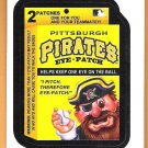 PITTSBURGH PIRATES EYE PATCH 2016 Topps MLB Wacky Packages Sticker Card #39 Oddball FREE SHIPPING