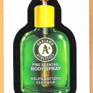 OAKLAND ATHLETICS PINE SCENTED BODY SPRAY 2016 Topps Wacky Packages Sticker Card #1 FREE SHIPPING
